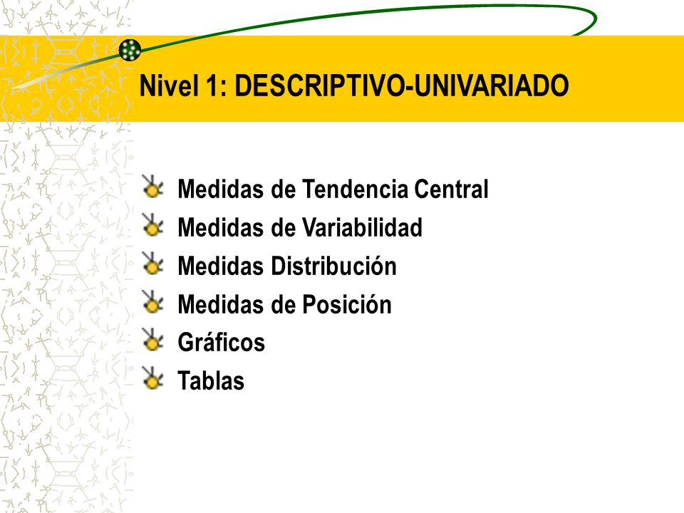 Nivel 1: DESCRIPTIVO-UNIVARIADO