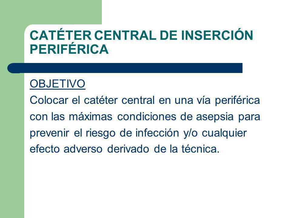 CATÉTER CENTRAL DE INSERCIÓN PERIFÉRICA