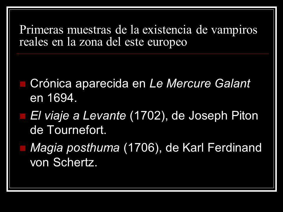 Primeras muestras de la existencia de vampiros reales en la zona del este europeo