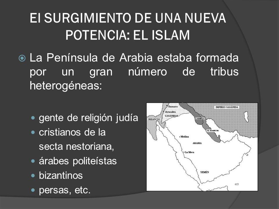 El SURGIMIENTO DE UNA NUEVA POTENCIA: EL ISLAM