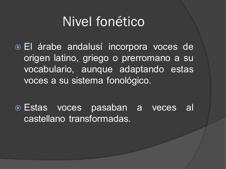 Nivel fonético