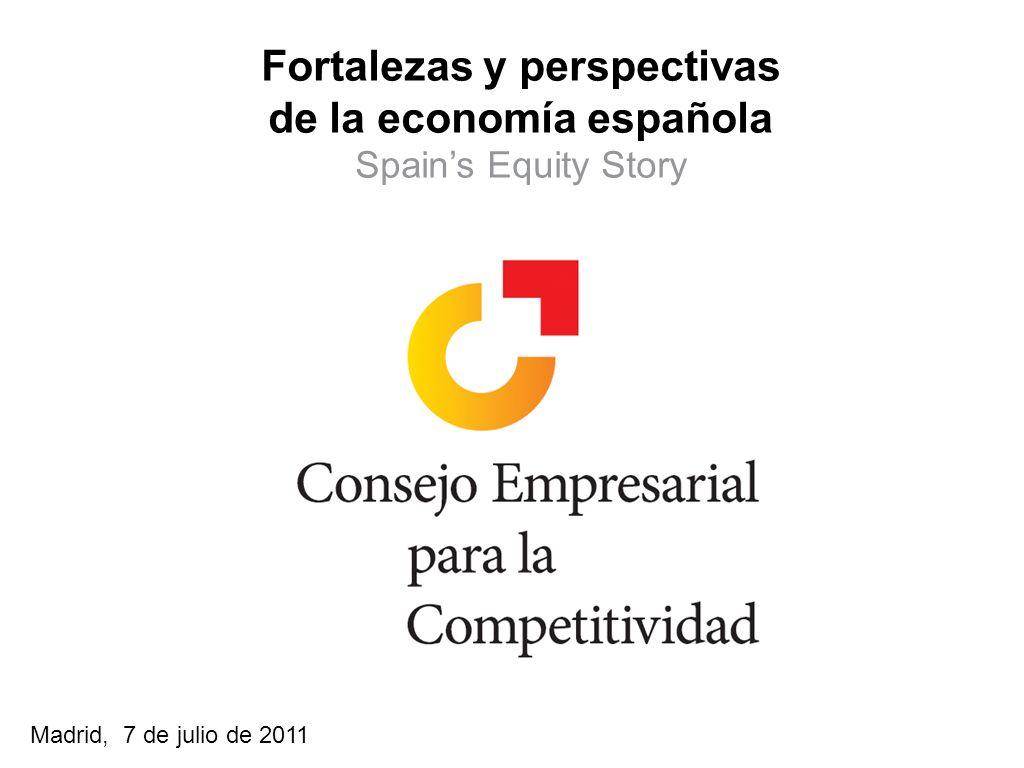 Fortalezas y perspectivas de la economía española
