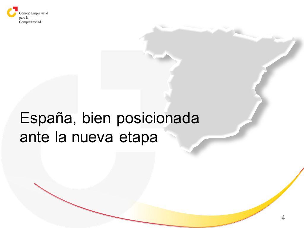 España, bien posicionada ante la nueva etapa
