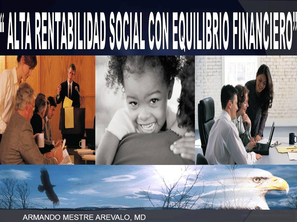 ALTA RENTABILIDAD SOCIAL CON EQUILIBRIO FINANCIERO