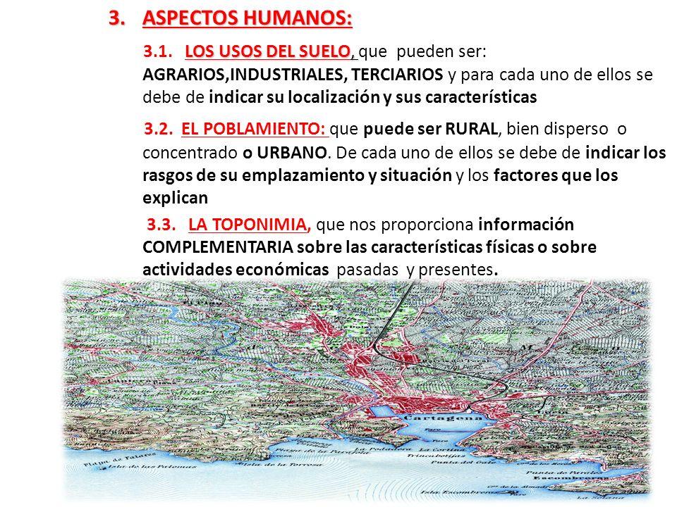 ASPECTOS HUMANOS:
