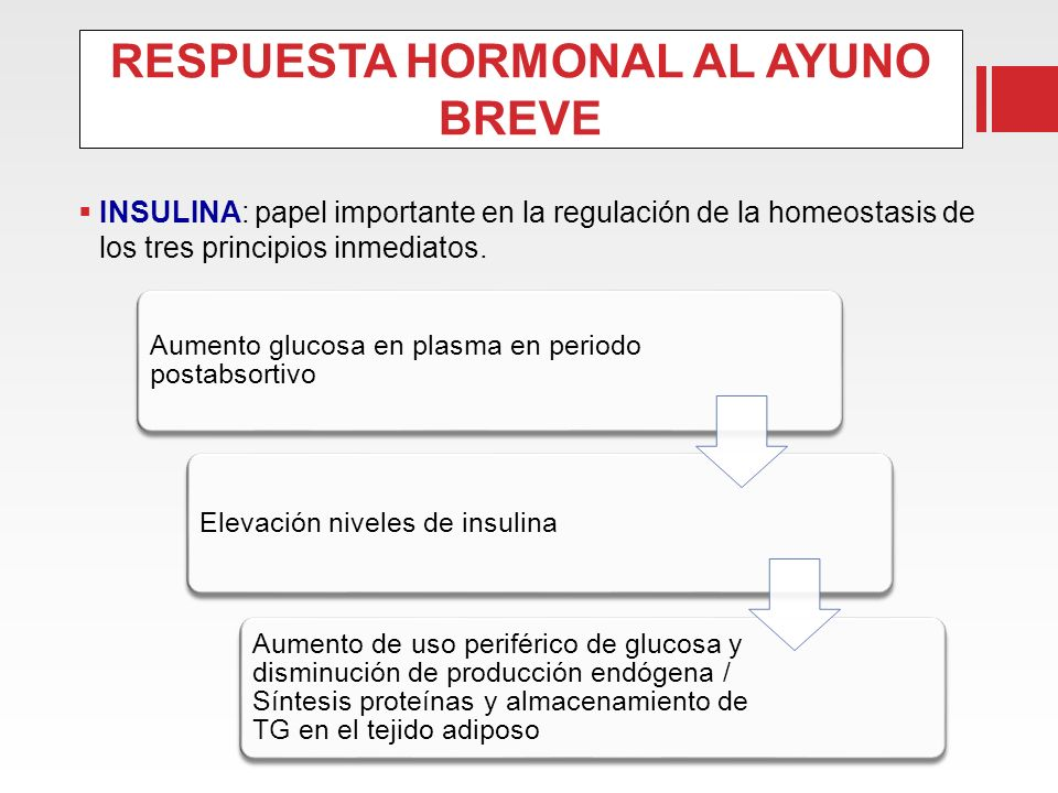 RESPUESTA HORMONAL AL AYUNO BREVE