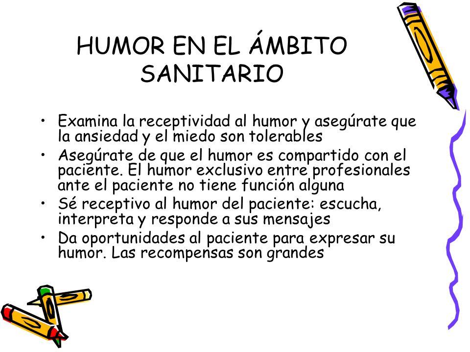 HUMOR EN EL ÁMBITO SANITARIO