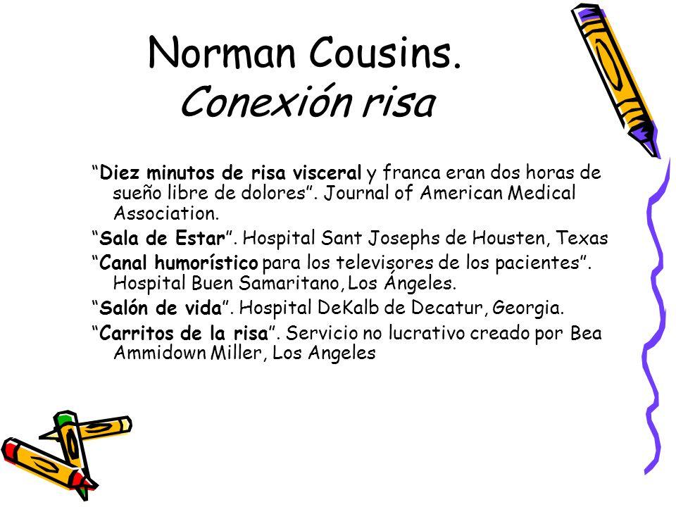 Norman Cousins. Conexión risa