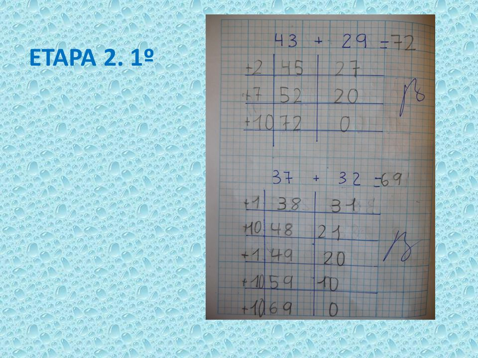 ETAPA 2. 1º