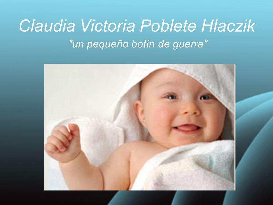 Claudia Victoria Poblete Hlaczik