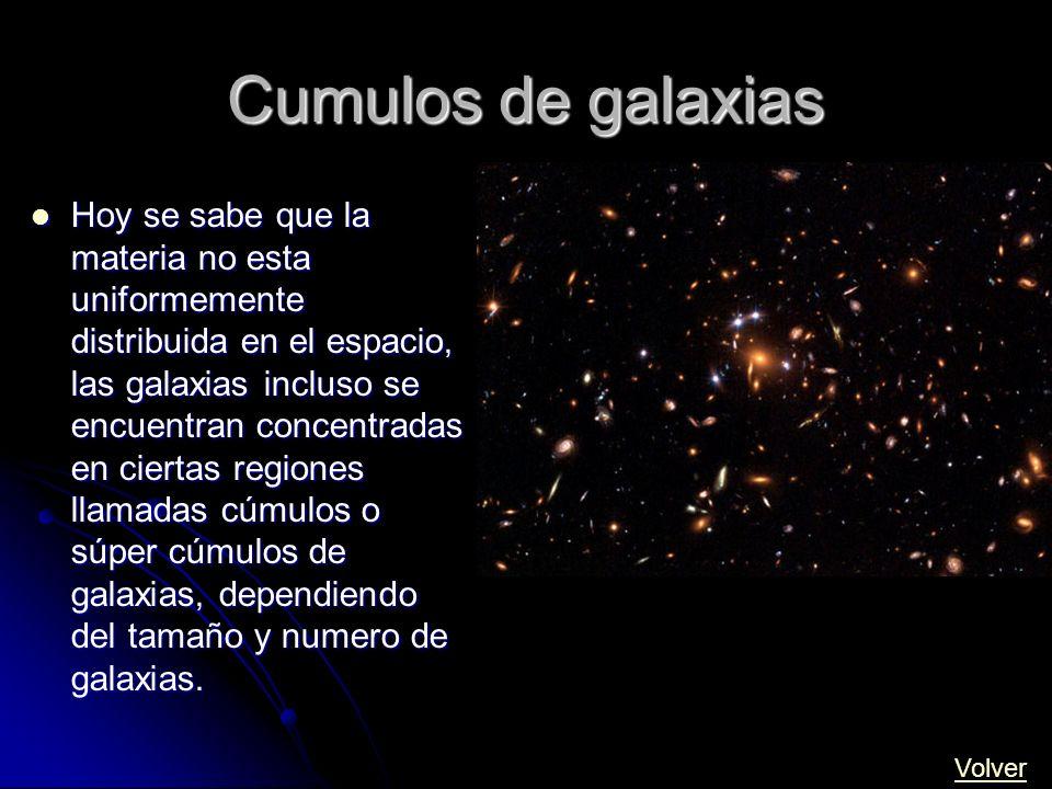 Cumulos de galaxias