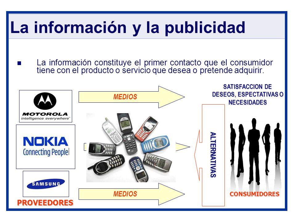 La información y la publicidad