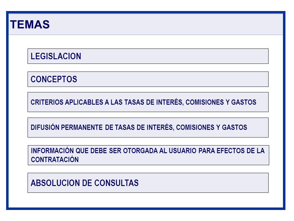 TEMAS LEGISLACION CONCEPTOS ABSOLUCION DE CONSULTAS