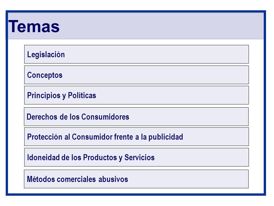 Temas Legislación Conceptos Principios y Políticas