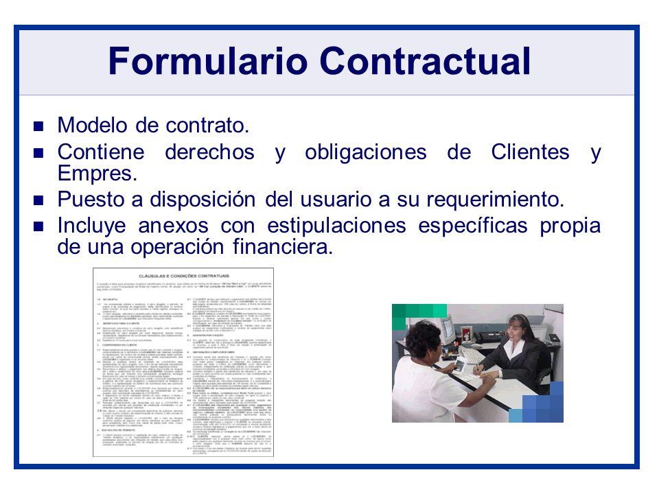 Formulario Contractual