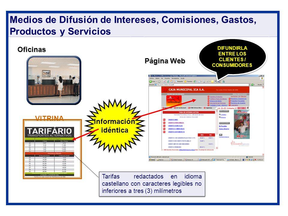 DIFUNDIRLA ENTRE LOS CLIENTES / CONSUMIDORES
