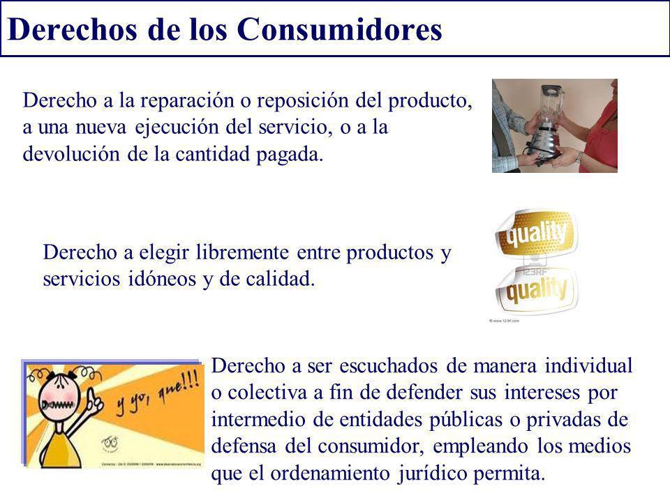 Derechos de los Consumidores