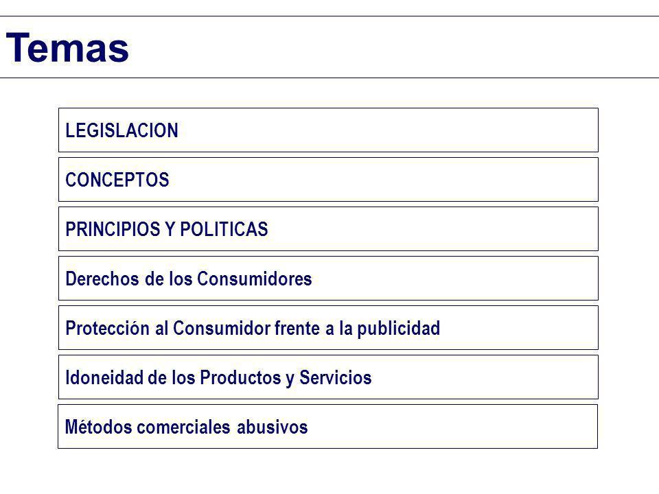 Temas LEGISLACION CONCEPTOS PRINCIPIOS Y POLITICAS