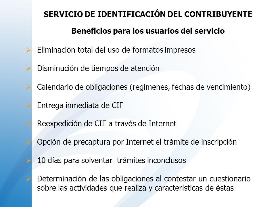 SERVICIO DE IDENTIFICACIÓN DEL CONTRIBUYENTE