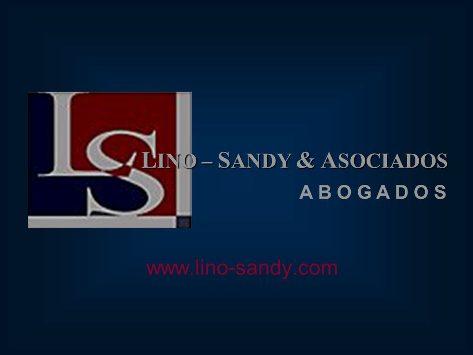 LINO – SANDY & ASOCIADOS