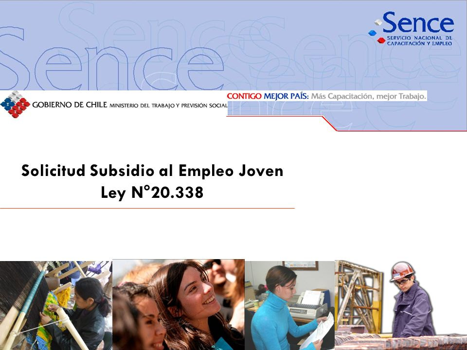 Solicitud Subsidio al Empleo Joven