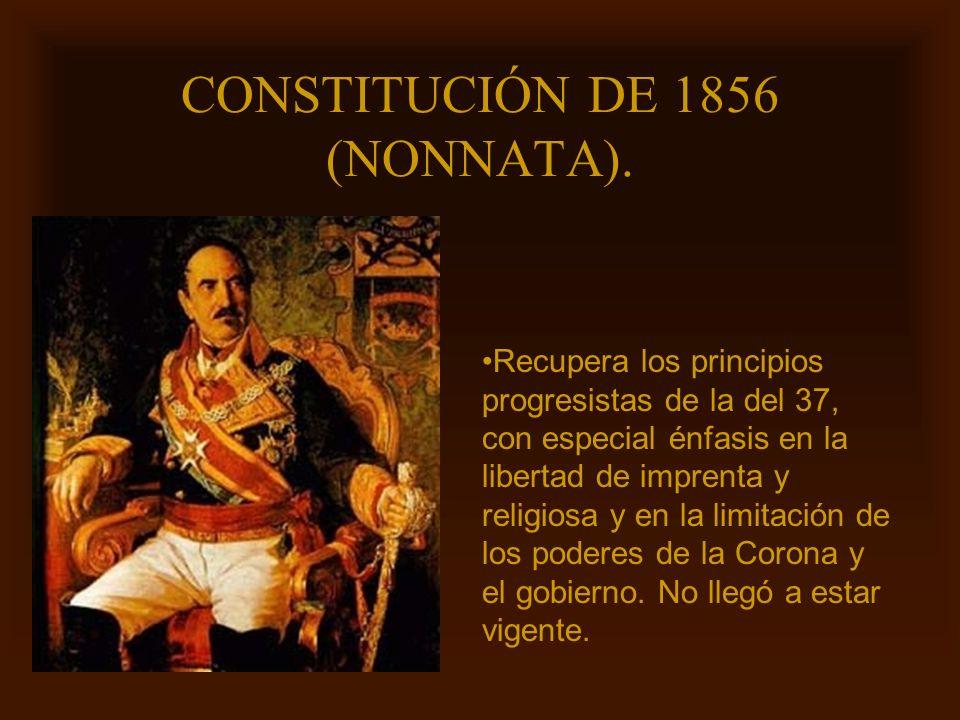 CONSTITUCIÓN DE 1856 (NONNATA).