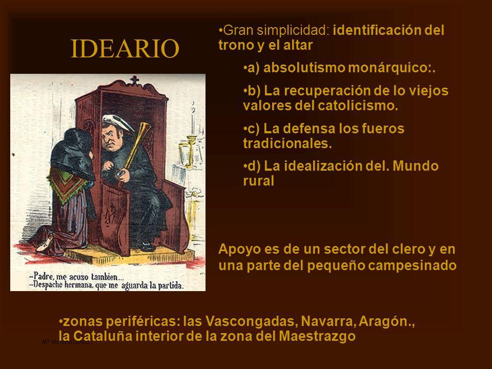 IDEARIO Gran simplicidad: identificación del trono y el altar
