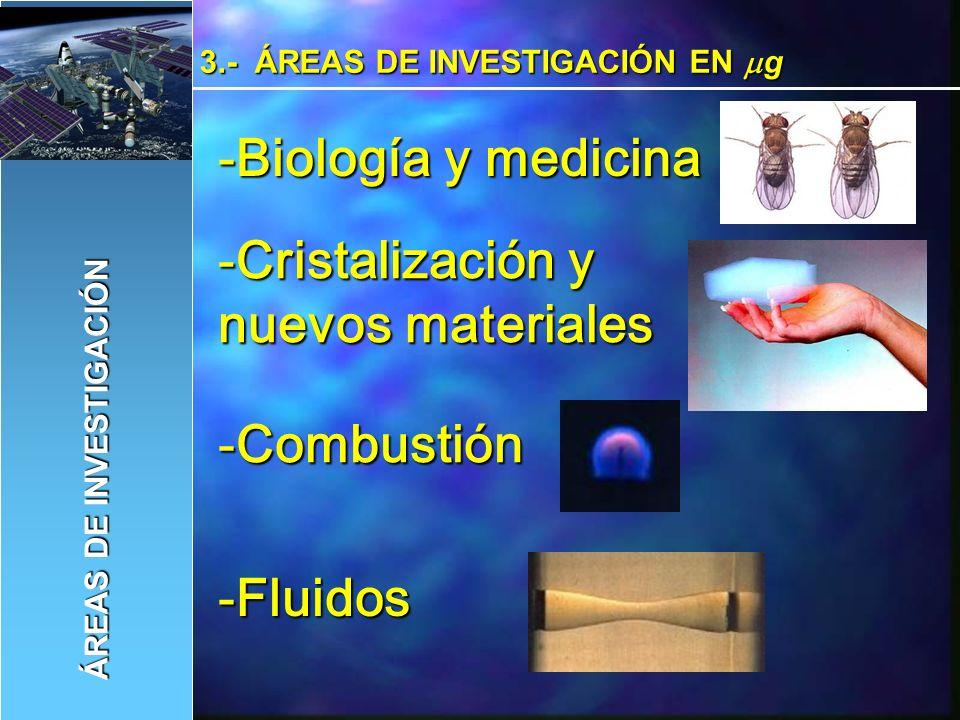 Cristalización y nuevos materiales