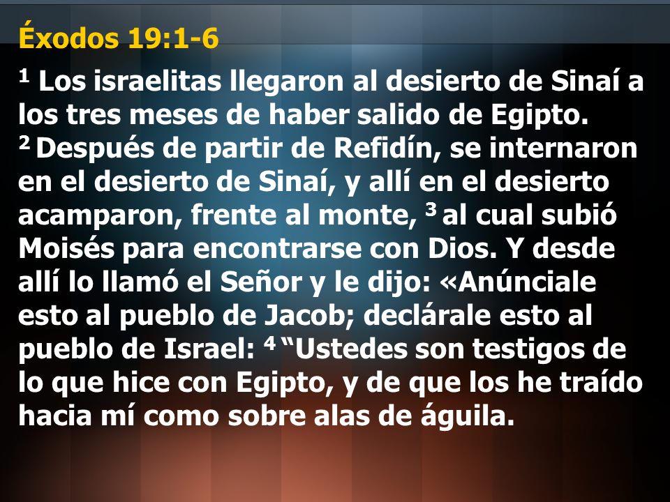 Éxodos 19:1-6
