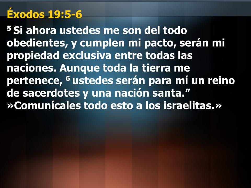 Éxodos 19:5-6