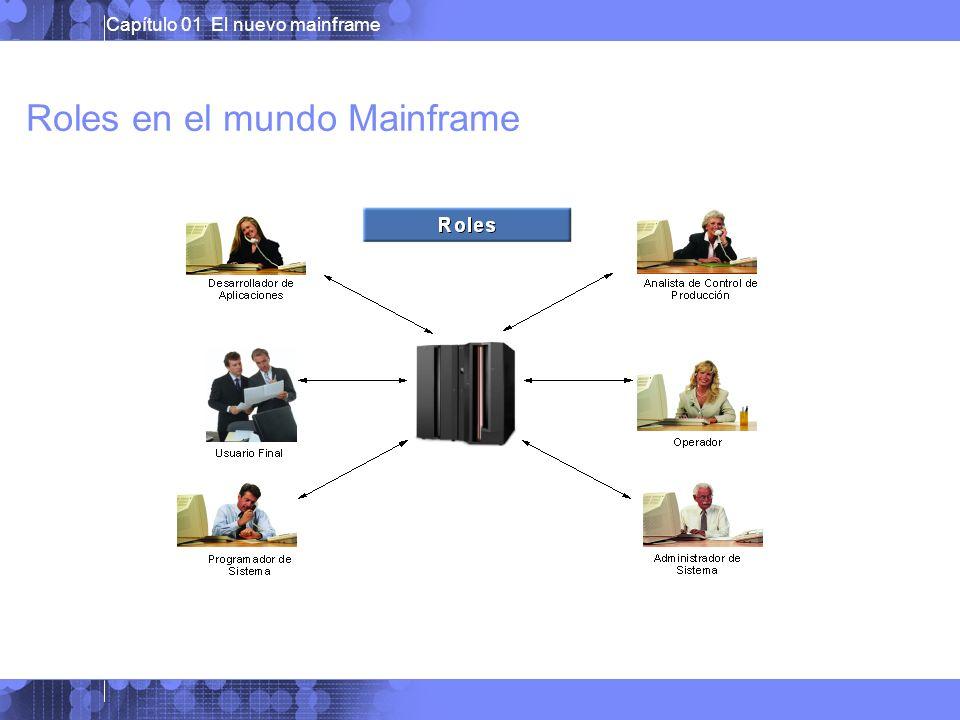 Roles en el mundo Mainframe