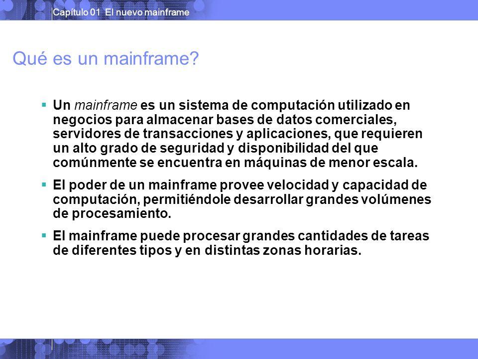 Qué es un mainframe