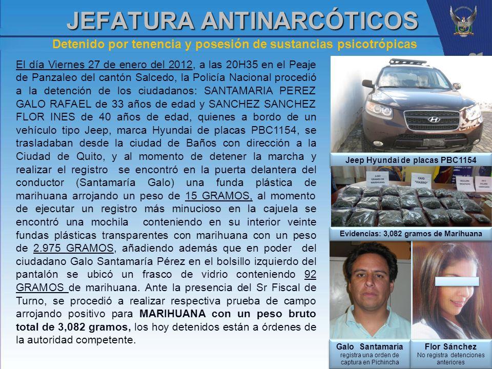 JEFATURA ANTINARCÓTICOS