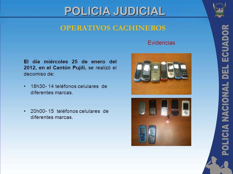 OPERATIVOS CACHINEROS