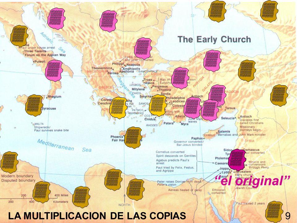 el original LA MULTIPLICACION DE LAS COPIAS 9