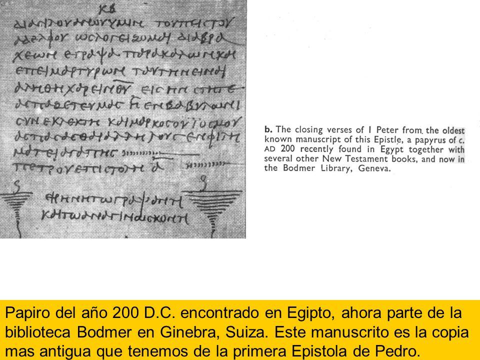 Papiro del año 200 D.C.