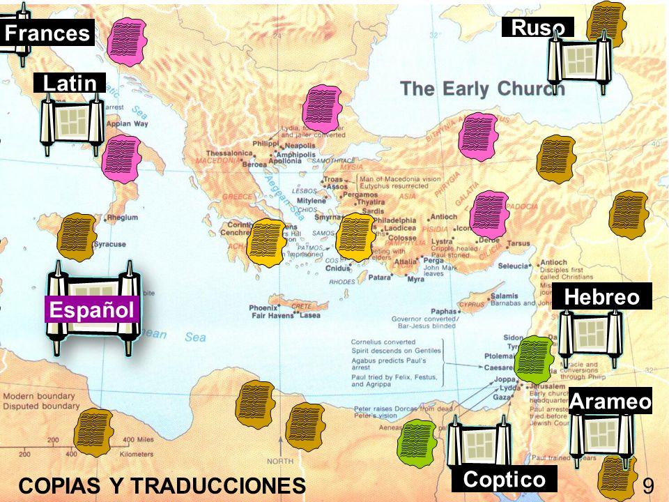 Frances Ruso Latin Hebreo Español Arameo COPIAS Y TRADUCCIONES Coptico 9