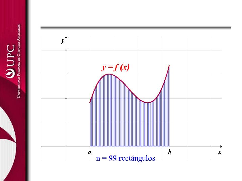 n = 99 rectángulos