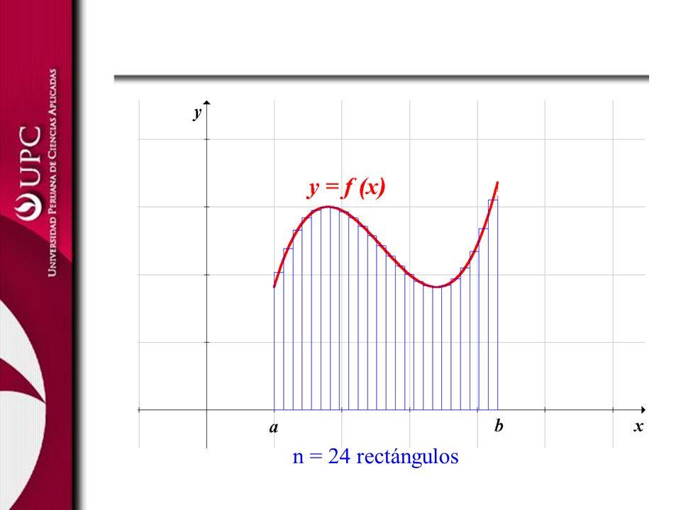 n = 24 rectángulos