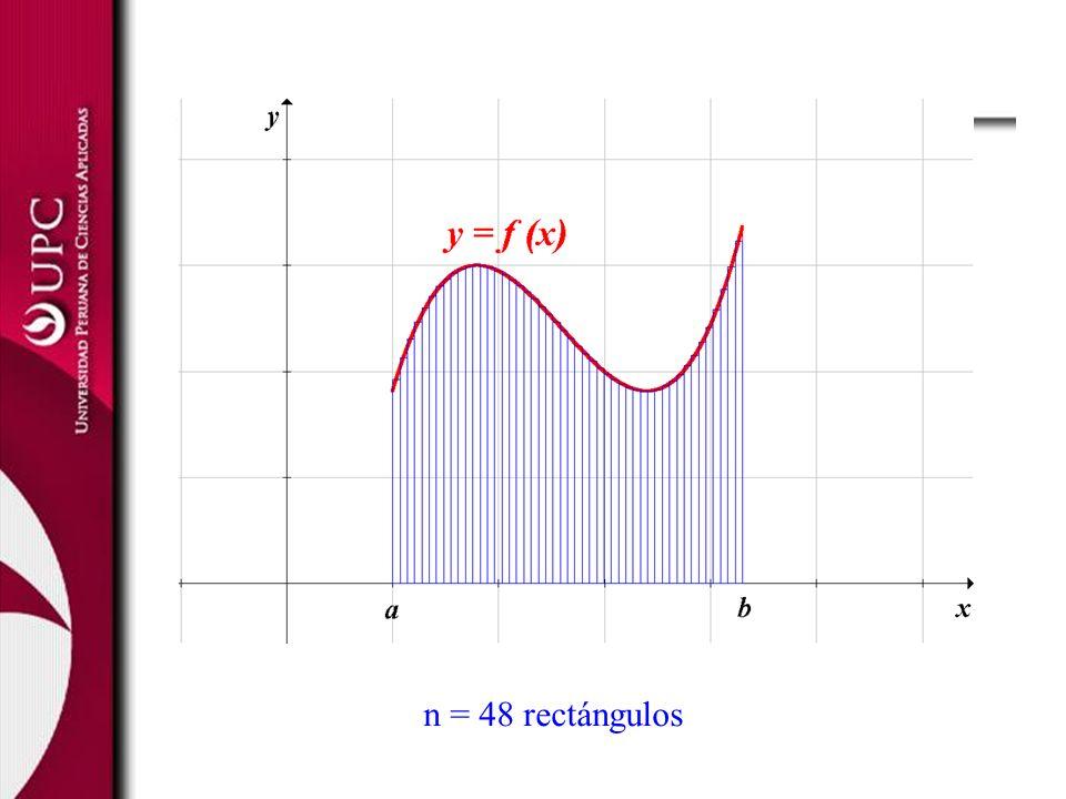 n = 48 rectángulos