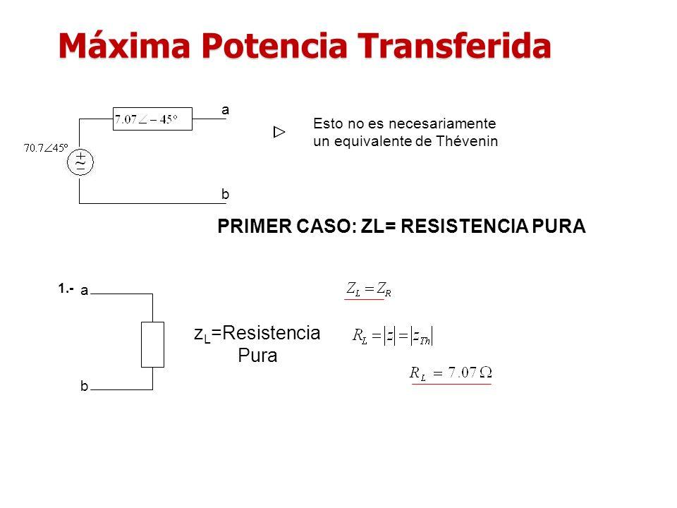 Máxima Potencia Transferida