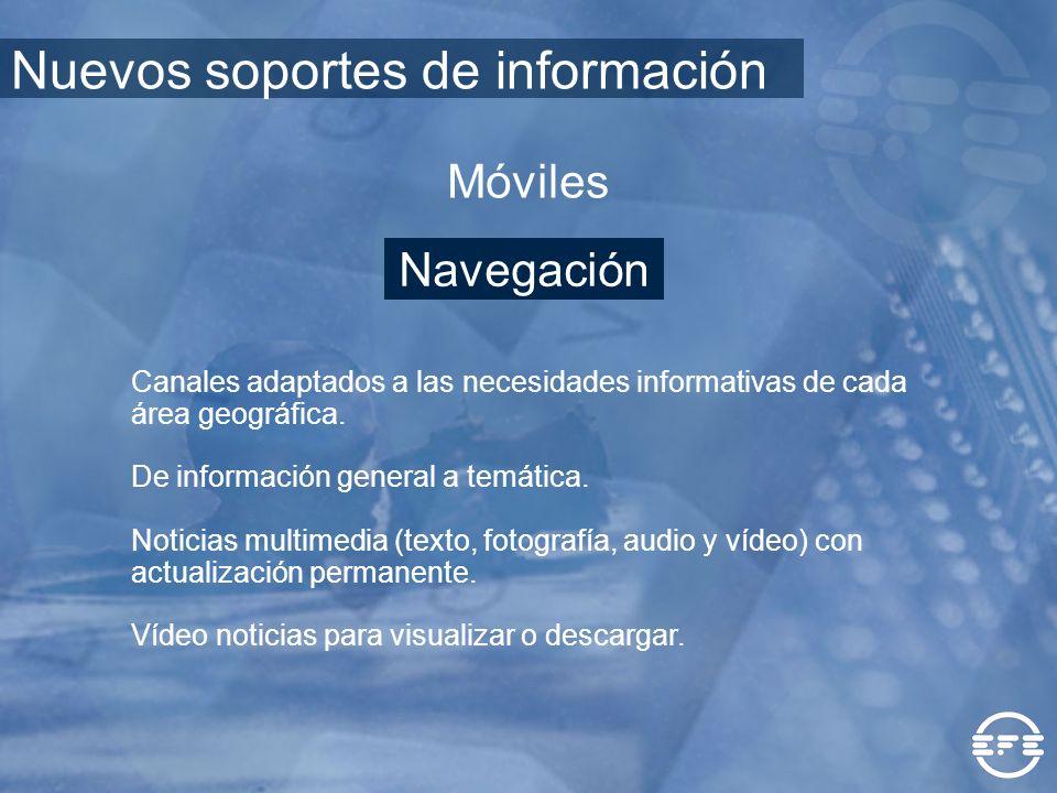 Nuevos soportes de información