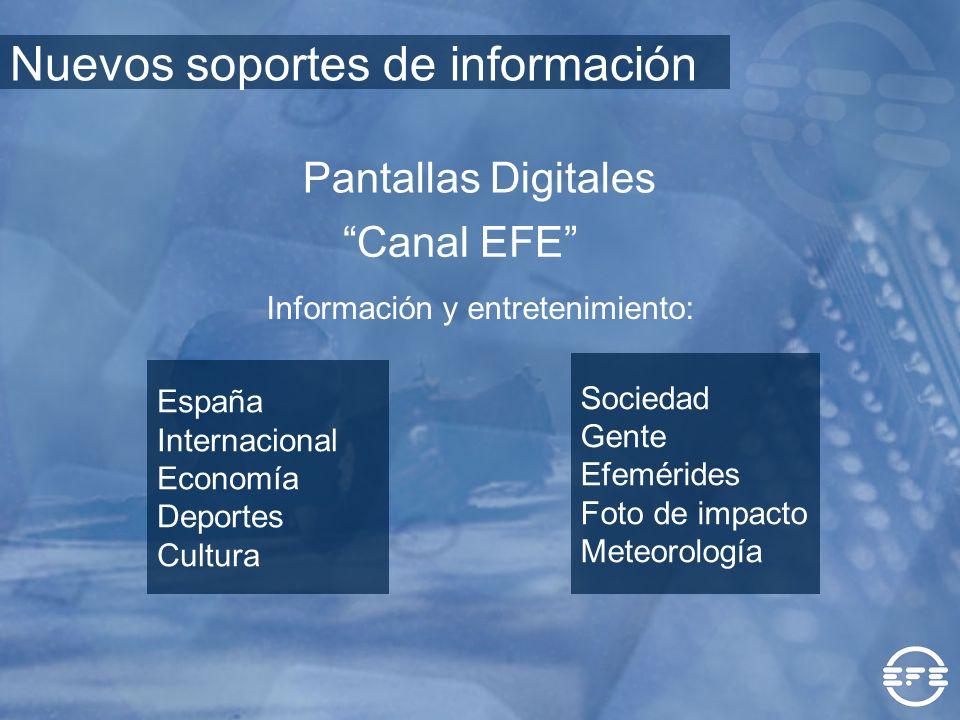 Información y entretenimiento: