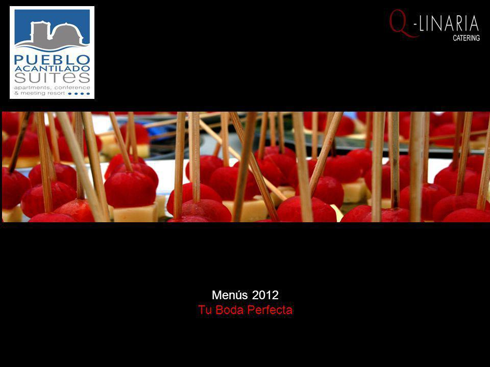 Menús 2012 Tu Boda Perfecta
