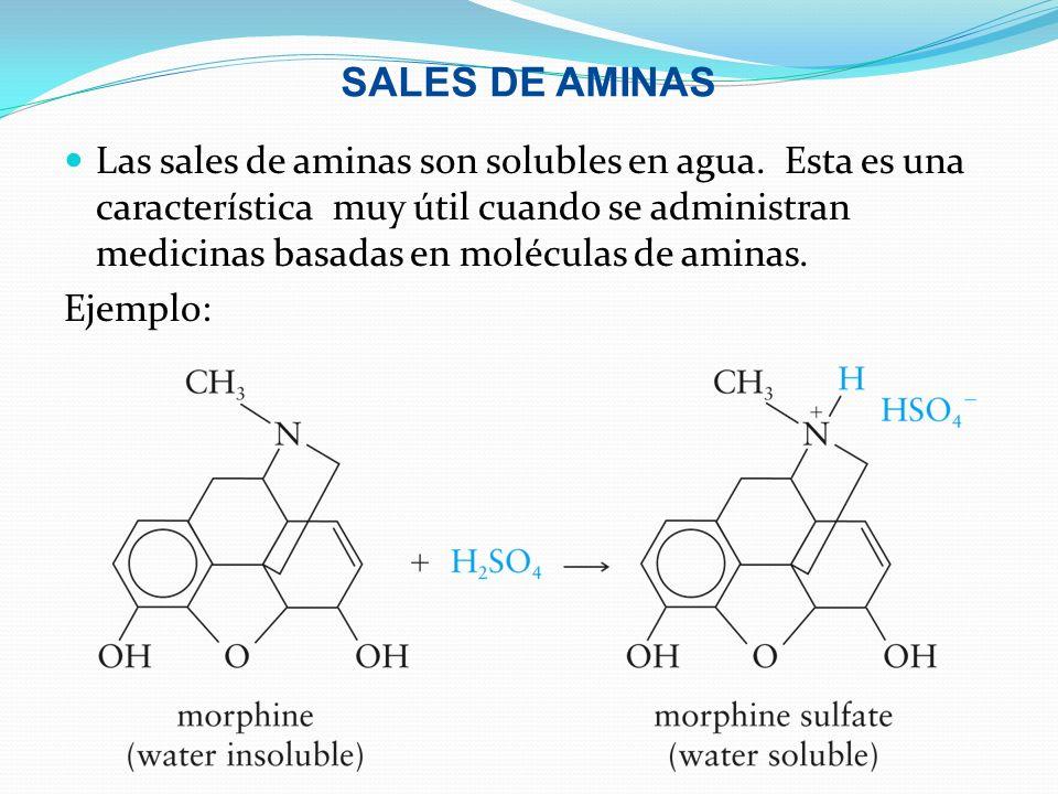 SALES DE AMINAS