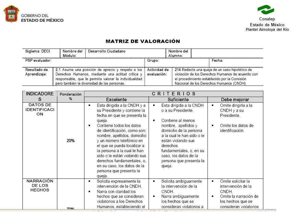 Conalep Estado de México Plantel Almoloya del Río