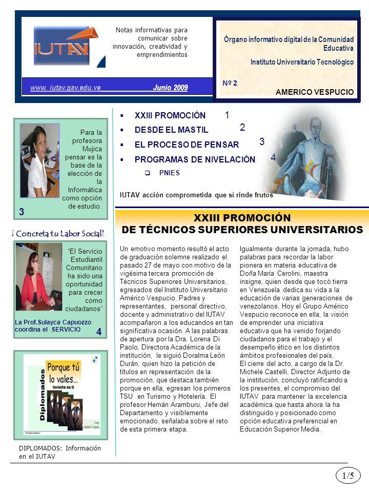 DE TÉCNICOS SUPERIORES UNIVERSITARIOS