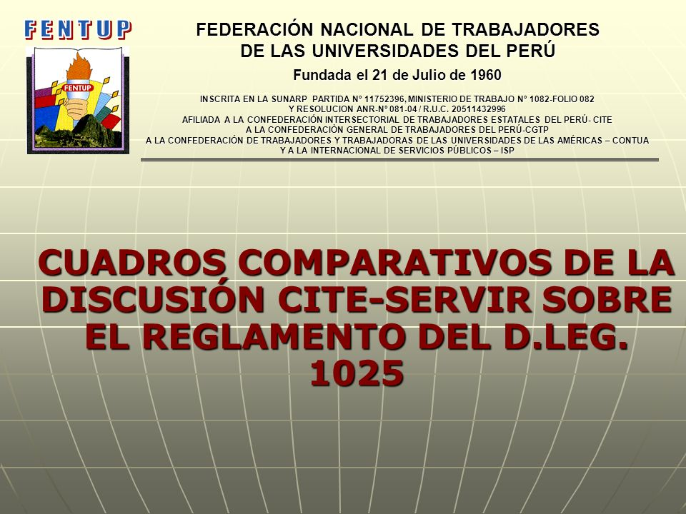 FEDERACIÓN NACIONAL DE TRABAJADORES