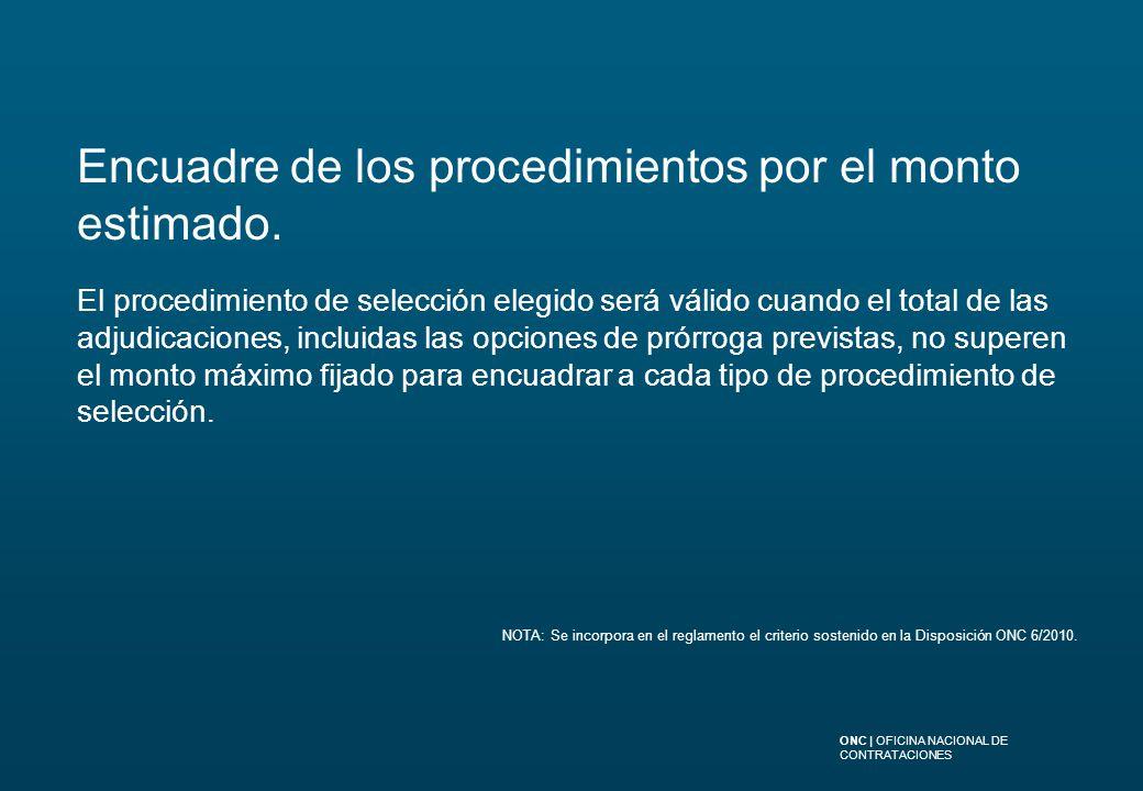 Oficina Nacional de Contrataciones - ppt descargar