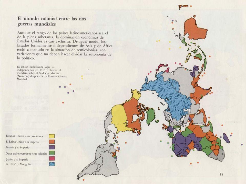 Mapa descolonización